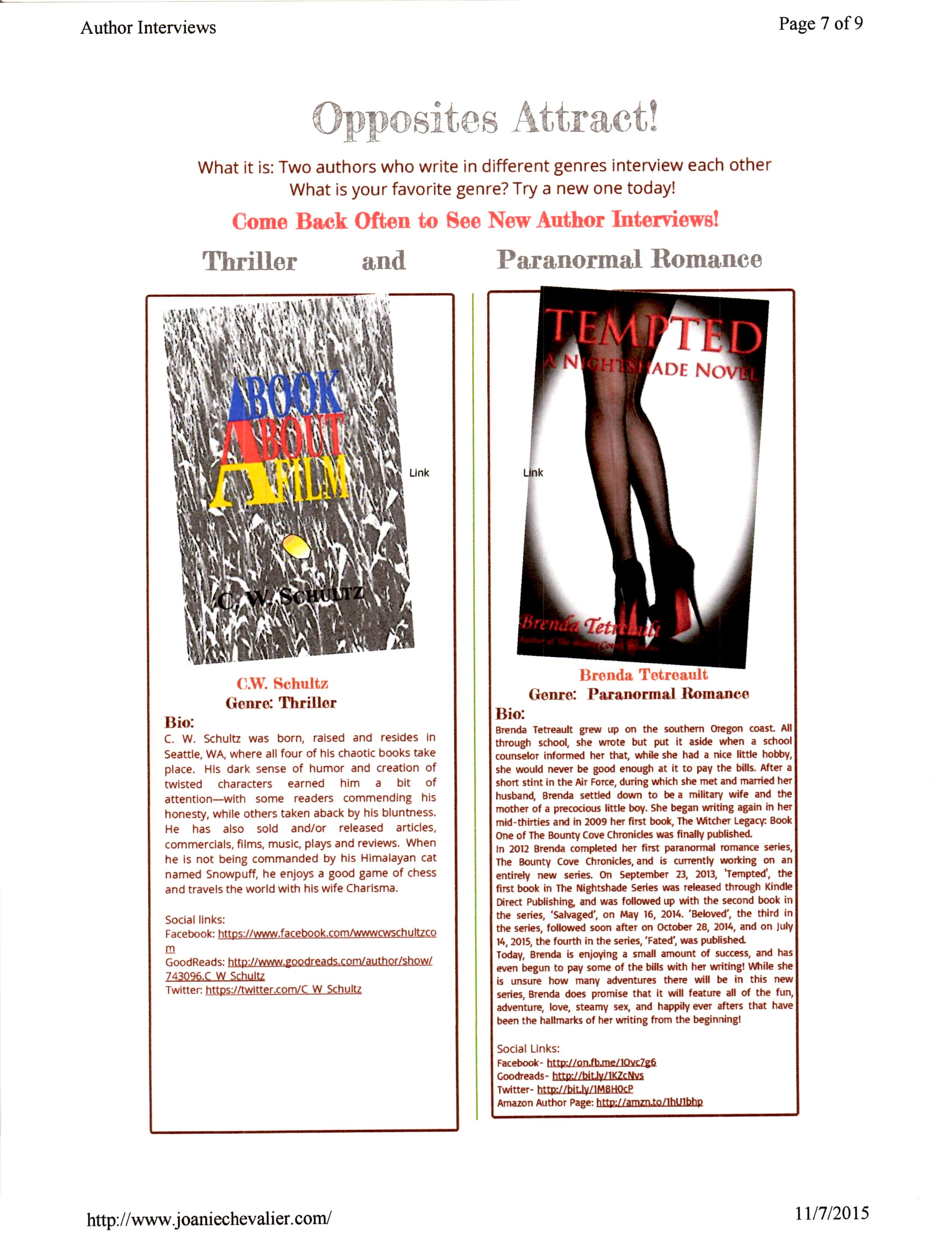 A Book About a Film Joanie Chevalier Interview (1)